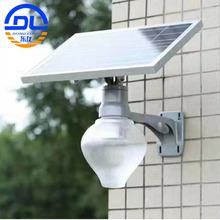 10W庭院灯 桃子灯 厂家批发LED一体化室外照明灯具太阳能庭院灯