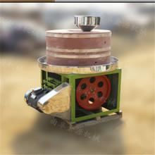 吕梁天然红石电动石磨机 优质高效电动芝麻酱机厂家