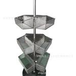 廠家訂制鐵籃子  鐵藝置物架 金屬焊接制品架 貨架