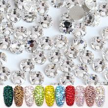 美甲水钻 指甲贴钻diy配件 国贸水晶玻璃平底钻