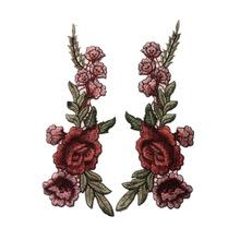廠家直銷服裝輔料民族風蕾絲花邊七彩色領花水溶刺繡花邊對領