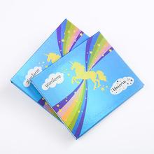 2019彩妆包装纸盒眼影盘定制 多色眼影盒印刷logo化妆品包装批发
