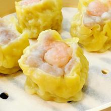 今逸港式点心特色小吃鲜虾烧卖 步行街茶餐厅热销产品虾仁烧麦