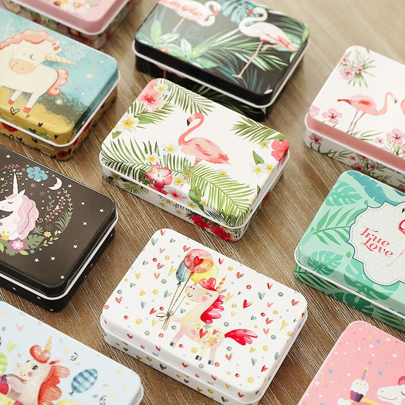 批发ins礼品盒伴手礼铁盒创意口红礼物盒子精美韩版包装盒名片盒