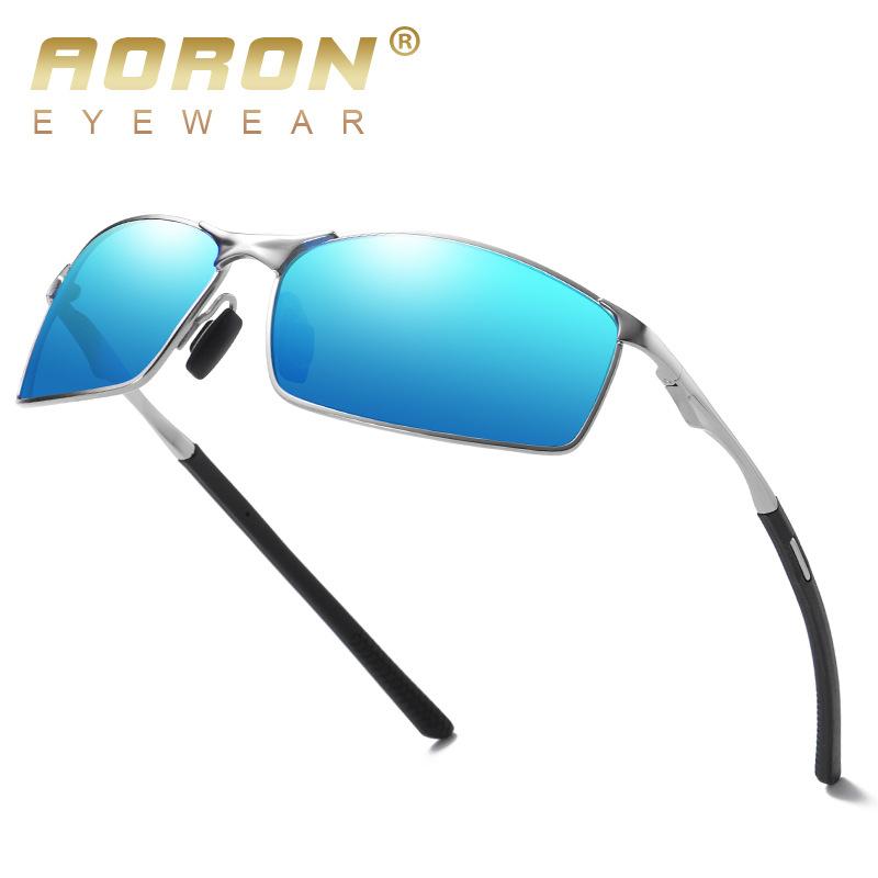 AORON新款偏光太阳镜男士墨镜驾驶镜变色眼镜夜视镜 厂家批发A559