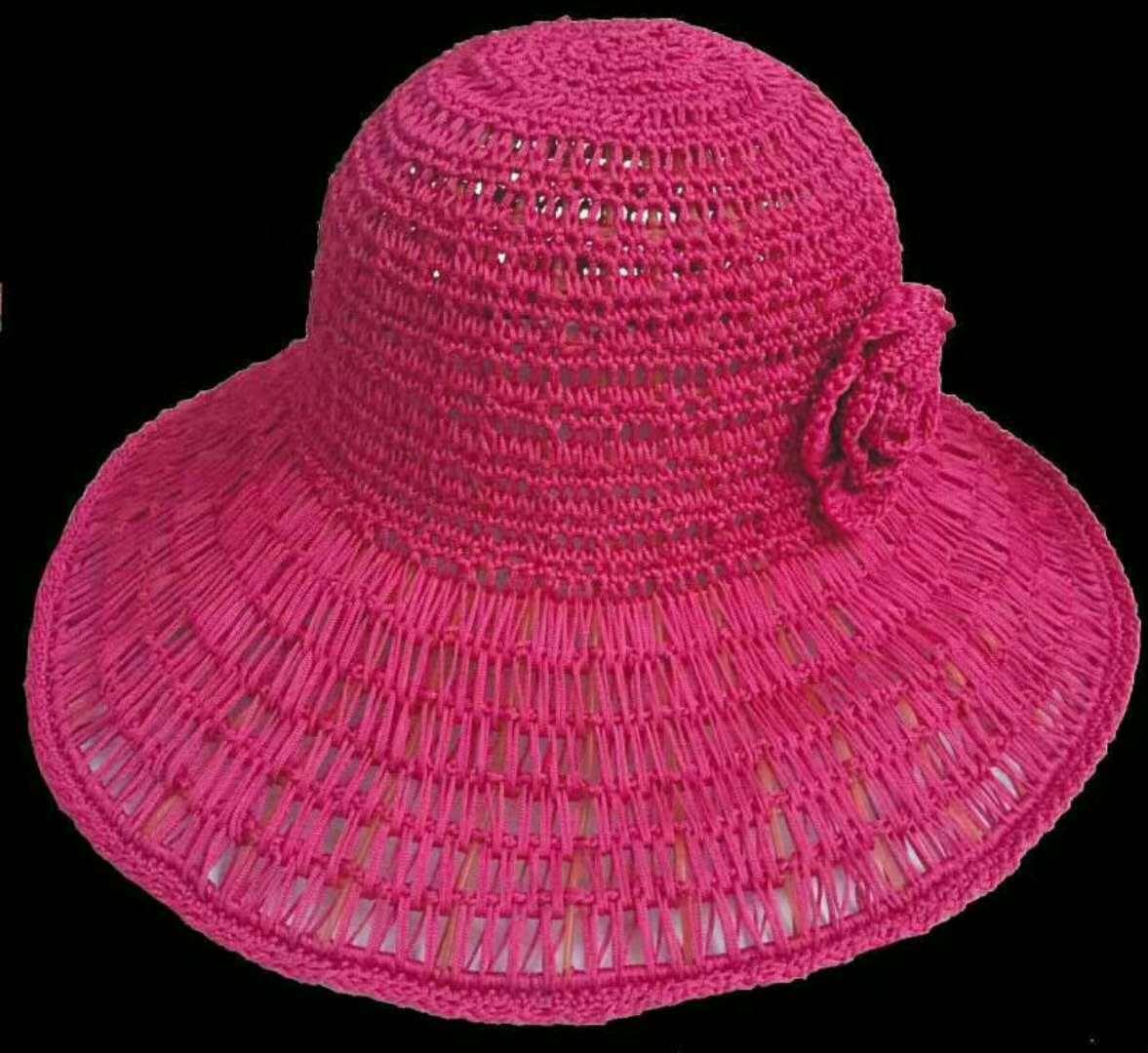 夏季太阳帽辅料 塑料帽网 手编 钩编太阳帽丝带绣塑料网帽子磨具