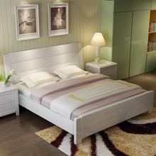 欧式实木公主床1.8米双人床1.5米主卧床法式特价床婚床高箱储物床