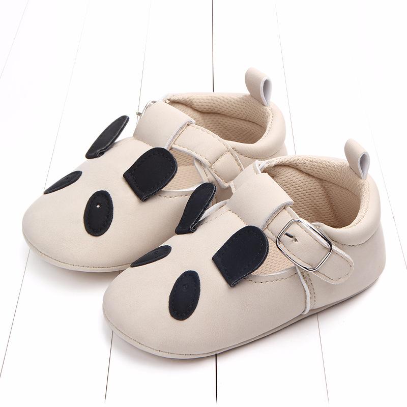 外贸春秋款卡通动物婴儿鞋磨砂皮防滑软底宝宝鞋批发 0884