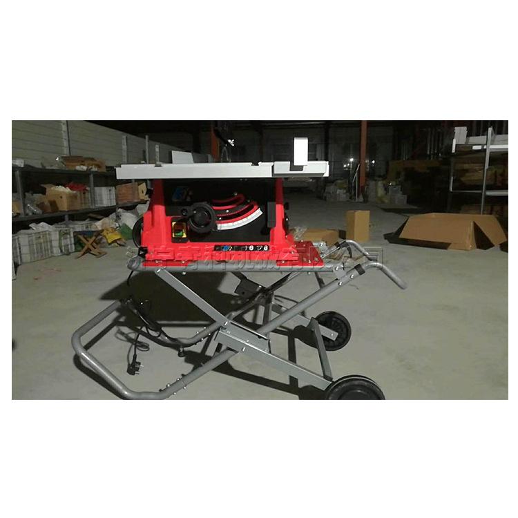 便携式推台锯 铝制型材切割机 相框锯角裁剪设备 可折叠移动方便