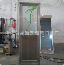 生产销售出口铝门 平开门 玻璃门 金属门