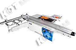 极东推台锯3.2米导轨45deg90deg精密裁板锯木工机械开料锯KS-132
