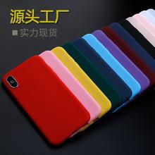 新款OPPO A7皮套RENO 标准版手机壳磨砂R17素材 透明彩色 tpu彩绘