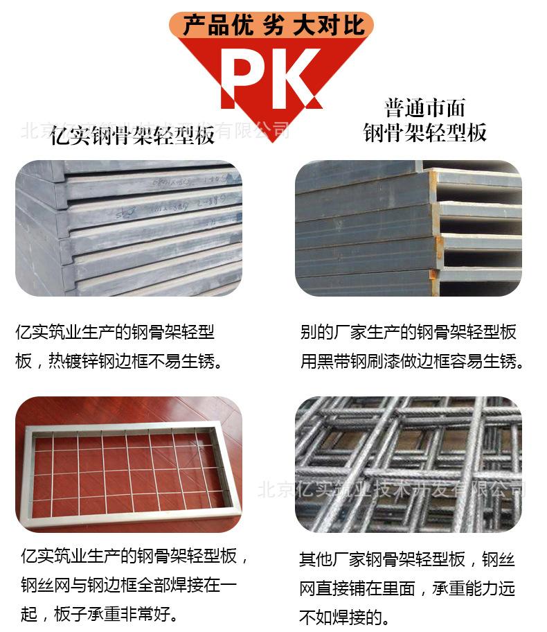 钢骨架轻型混凝土楼板