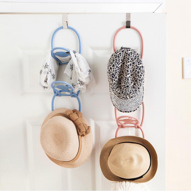 家用客厅门后多功能挂式衣服帽?#37038;?#32435;架创意6只装围巾领带挂架