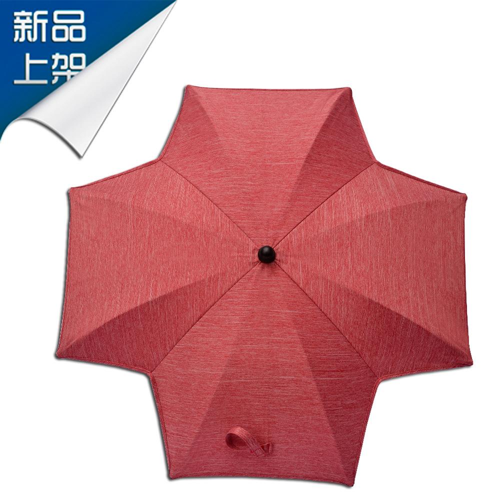 手推车创意风车伞抗UV童车伞婴儿景观车伞防紫外线夹子伞厂家订做