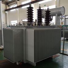 33KV变380V油浸式电力变压器S11-1000KVA型Transformer油变 铜芯