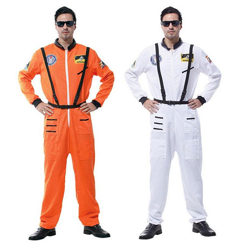 万圣节cosplay 六一儿童节表演 演出服装宇航员飞行员成人太空服