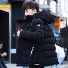 2018冬季新款加厚棉衣 ?#21487;?#38889;版流行修身时尚连帽休闲棉服男