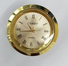供应27/36/45/55MM圆型金属合金表头/工艺品钟表机芯配件