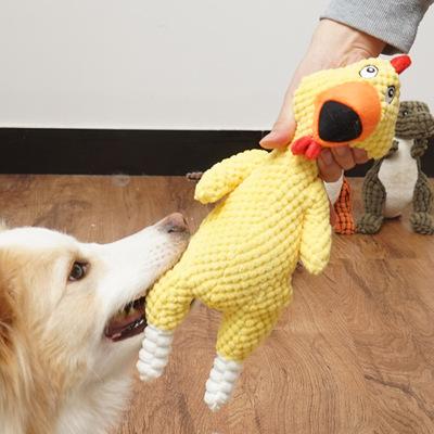 金毛玩具大型犬边牧泰迪磨牙玩具耐咬发声男生积木狗用品狗狗玩具小狗冰雪毛绒图片