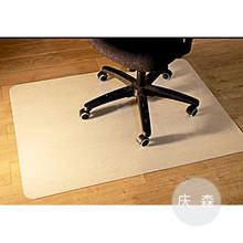 推荐出口环保地毯地板椅子垫电脑转椅 PVC透明唇形凸形椅子垫