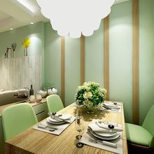 清新绿色素色壁纸 田园酒店店铺KTV奶茶店装修壁纸批发零售