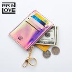 2019新款零钱包时尚纯色钥匙卡包多功能迷你钱包跨境专供一件代发