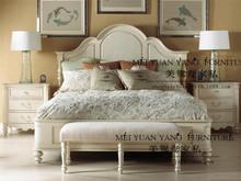 厂家?#30340;?#23450;制美式欧式新古典双人床婚床卧室样板间设计师软装