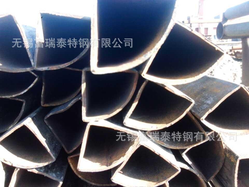 专业生产异型无缝管 扇形无缝管 扇形钢管 来样加工