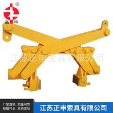 專業供應圓鋼鋼管吊夾具 平移式圓鋼夾鉗 鋼坯夾鉗 可定制
