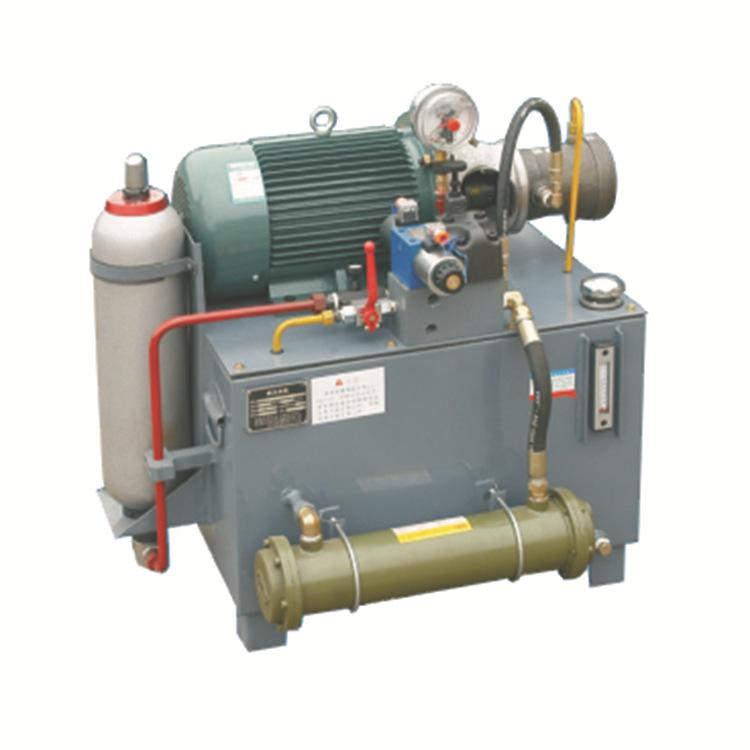 两相电泵站不锈钢冲孔机防盗窗 单相220v液压站柱塞泵液压系统图片