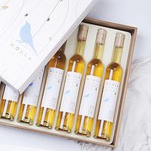 慕拉藍鉆冰酒6支禮盒裝 375ml*6支金鉆威代爾冰白黃金葡萄酒禮盒