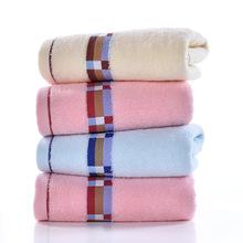 厂家直销纯棉32股加厚提花成人家用洗脸毛巾批发礼品毛巾定制包邮