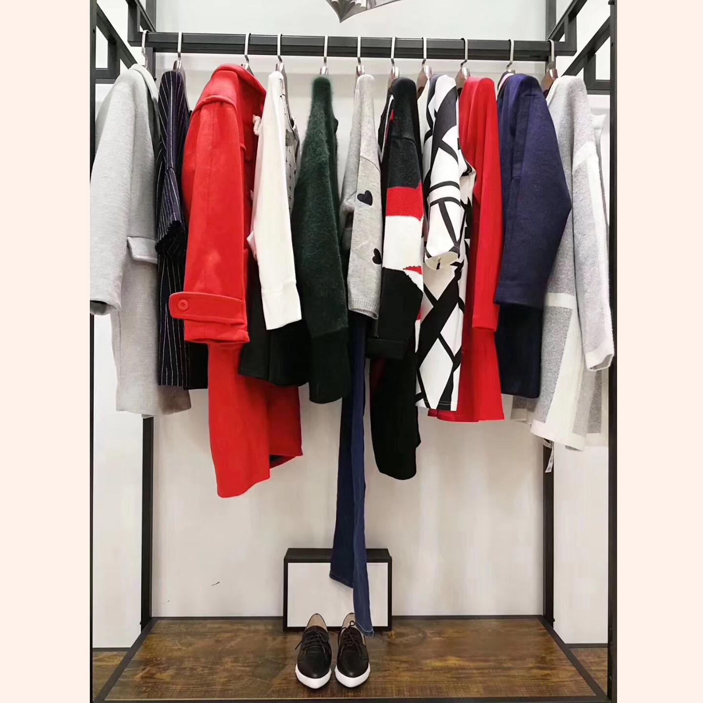 艾格18冬品牌折扣尾货女装 上海一线品牌专柜折扣正品尾货女装