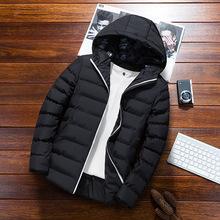 一件代发男士外套冬季2018新款韩版短款帅气羽绒棉服棉袄棉衣