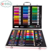 儿童画笔套装美术学习用品画画工具绘画蜡?#24066;?#23398;生礼物女孩水?#26102;? class=