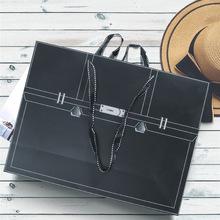 時尚服裝店裝衣服的袋子精美高檔logo購物禮品大號紙手提袋定制女