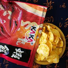 KAKA咔咔龙虾饼 台湾进口零食 原味海苔起士味麻辣味辣味休闲食品