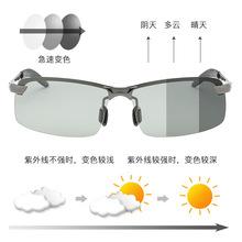 廠家直銷變色太陽鏡偏光墨鏡兩用全天候男士釣魚運動駕駛眼鏡批發