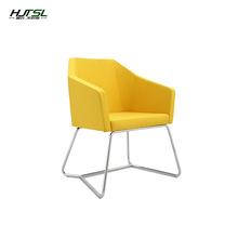 创意北欧?#23478;招?#38386;办公单人接待小沙发客厅简约商务定制沙发椅组合