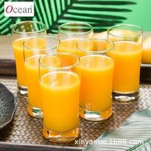 泰国进口Ocean创意玻璃茶杯家用办公室喝水杯啤酒杯牛奶杯