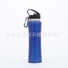 厂家定制304真空不锈钢运动水壶不锈钢保温杯户外保温运动水壶