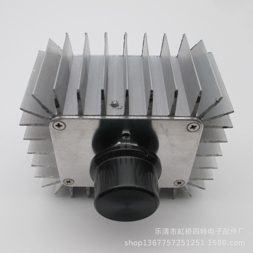 大电流 大功率 电子调压器 调节器 可控硅 调温度 调光 5000W