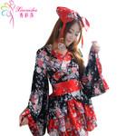 秀彩莎樱花祭Cosplay动漫服装 日本和服女仆装 日系和服公主洋装