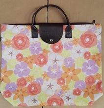牛津布袋 600d手提袋牛津布折叠购物袋色丁布袋可印logo女包购物+