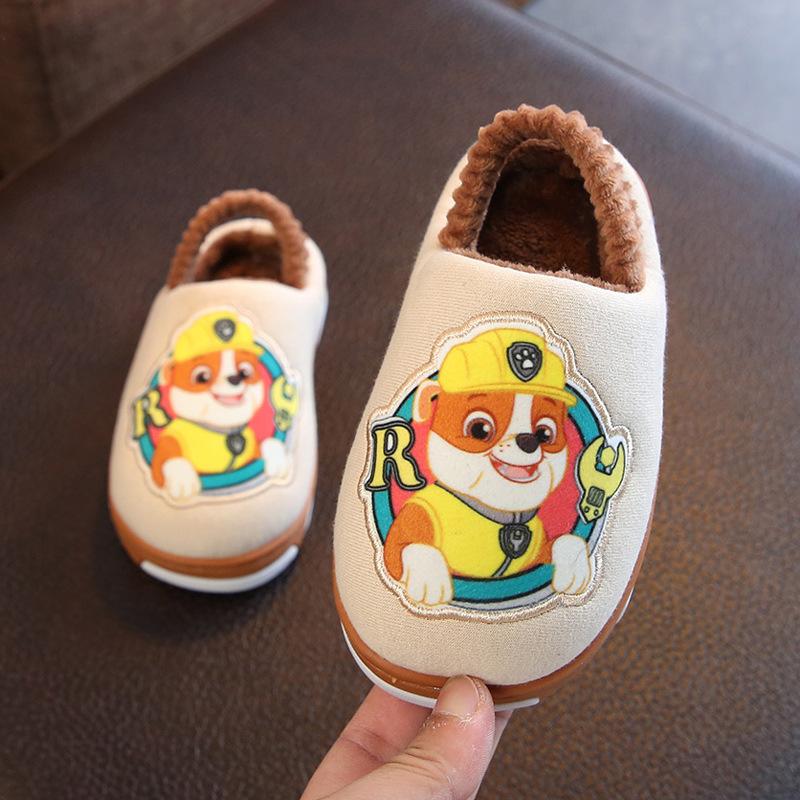 汪汪队儿童拖鞋冬天棉拖鞋
