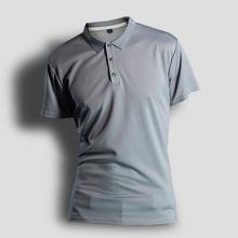 男士短袖T恤翻領衫純色運動速干半袖polo衫廠家廣告文化衫定制