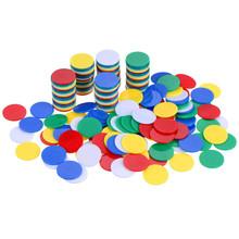 19mm塑料圆片 塑料有色小圆片 塑料小圆片 塑料小筹码