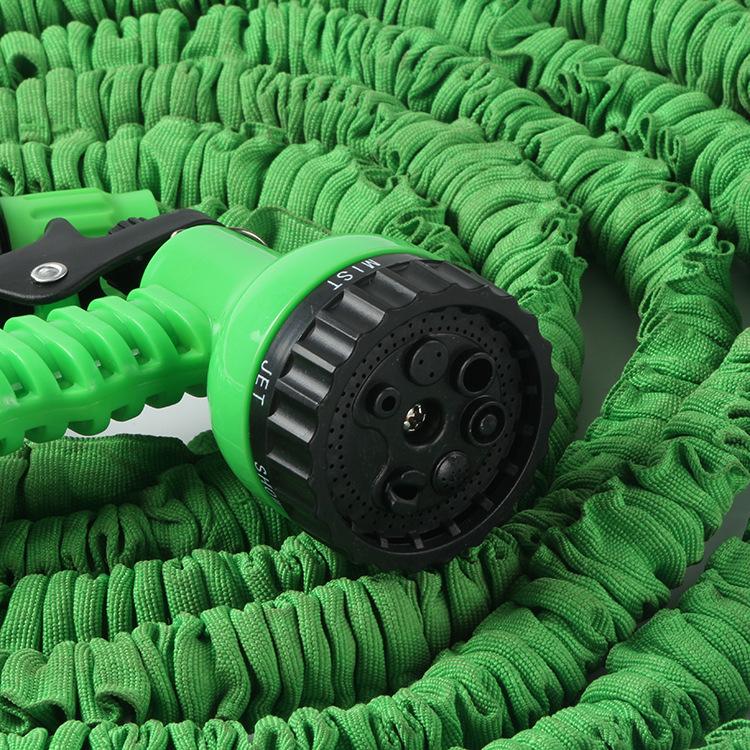 厂家直销神奇3倍自然收缩25.50.75.100FT.洗车TPE乳胶管伸缩水管