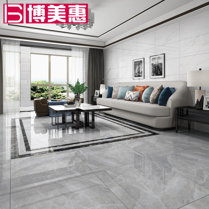 【博美惠】通体大理石瓷砖800*800耐磨客厅厨房卫生间墙砖地板砖